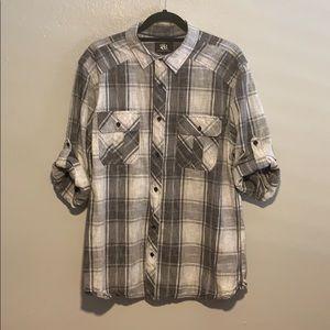 Rock & Republic Collared Shirt